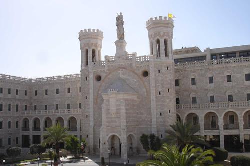 Gerusalemme, Chiesa di Notre Dame, 8/4/2014
