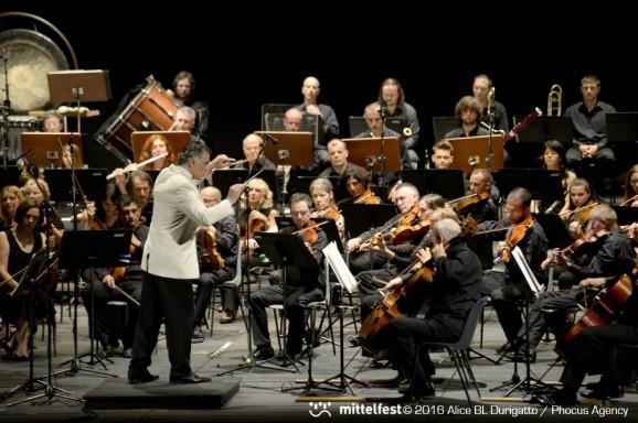 """Sergio Zolli, La Slovenska Filharmonjia di Ljubljana chiude Mittelfest 2016, """"Instart"""", 26 luglio 2016"""